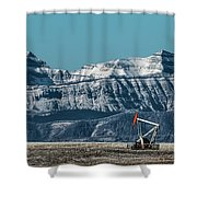 Rocky Mountain Oil Shower Curtain