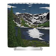 Rocky Mountain Shower Curtain