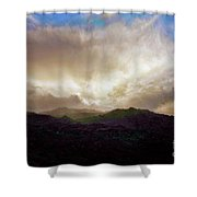Rocky Mountain Sky Shower Curtain