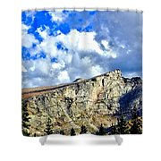 Rocky Mountain Summit Shower Curtain