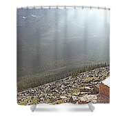 Rocky Mountain Sunbeam II Shower Curtain