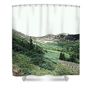 Rocky Mountain Vibes Shower Curtain