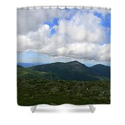 Rocky Mountain Way  Shower Curtain