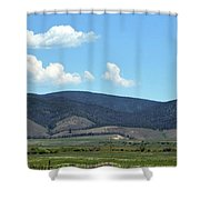 Rocky Mountains 3 Shower Curtain