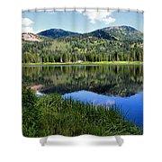 Rocky Mountains Majesty Shower Curtain