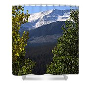 Rocky Mountains Mtn M 207 Shower Curtain