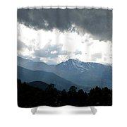 Rocky Mts. Mtn M 201 Shower Curtain