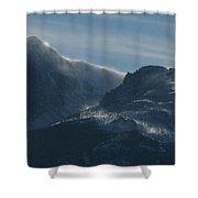 Rocky Mts Mtn M 202 Shower Curtain