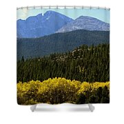 Rocky Mts Mtn M 209 Shower Curtain