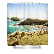 Rocky Ocean Capes Shower Curtain