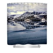 Rocky Outrigger Shower Curtain