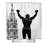 Rocky - Philly's Champ Shower Curtain
