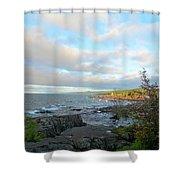 Rocky Point Shower Curtain