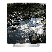 Rocky Rapids Shower Curtain