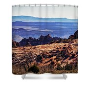 Rocky View Shower Curtain