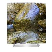 Rocky Water Closeup 2 Shower Curtain