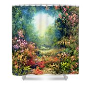 Rococo Delight Shower Curtain by Hannibal Mane