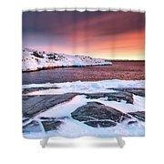 Rodebay Sunset Shower Curtain
