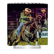 Rodeo Cowboy Shower Curtain