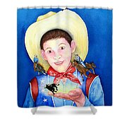 Rodeo Magic Shower Curtain