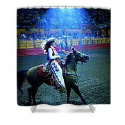 Rodeo Queen In The Spotlight Shower Curtain