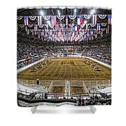 Rodeo Time In Texas Shower Curtain