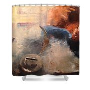 Rodeo Time Shower Curtain