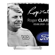 Rodger Clarke Shower Curtain