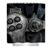 Rods And Bolts Shower Curtain