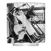 Roentgen X-ray Machine Shower Curtain