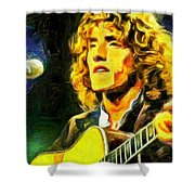 Roger Daltrey - The Who Shower Curtain