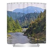 Rogue River Shower Curtain