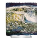 Rogue Wave Shower Curtain