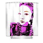 Rokku Gyaru Shower Curtain