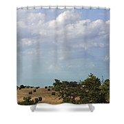 Roll Away Shower Curtain