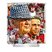 Roll Tide Shower Curtain