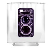 Eye Rolleiflex Euphoria Shower Curtain by Joseph Mosley
