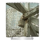 Roller Coaster 2 Shower Curtain