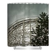 Roller Coaster 4 Shower Curtain