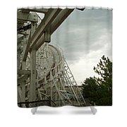 Roller Coaster 5 Shower Curtain