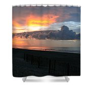 Rolling Clouds  Shower Curtain