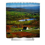 Rolling Countryside Shower Curtain