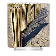 Rolling Fence Shower Curtain
