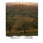 Rolling Foothills Of The Sierra Nevada Shower Curtain