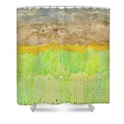 Rolling Heavens Shower Curtain