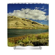 Rolling Hill Shower Curtain