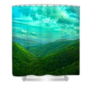 Rolling Hills Of Italy Shower Curtain