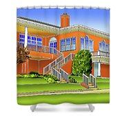 Rolling Road Golf Club Shower Curtain