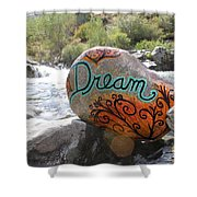 Rolling Water Dreams Shower Curtain