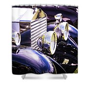 Rolls Shower Curtain